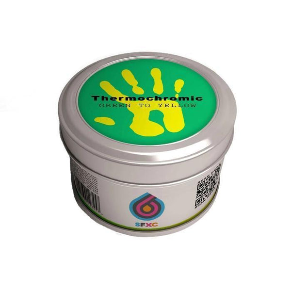 Thermochromic Acrylic Paint - Green to Neon Yellow