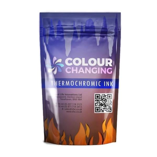Colour Changing Smart Thermochromic Screen Printing Ink