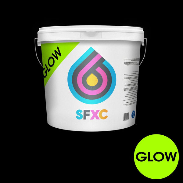 Glow in the dark screen printing ink