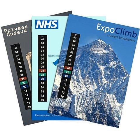 Promotional Customisable Large A5 Thermometer Cards