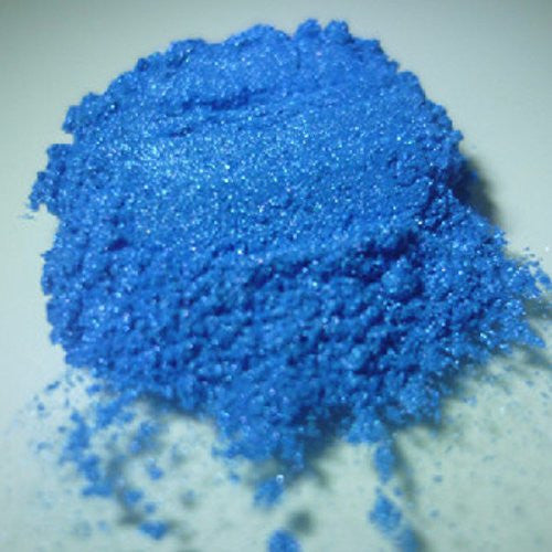 Rainbow Blue Pearlescent Pigments