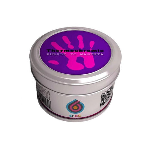 Purple to Neon Magenta 250ml Thermochromic Colour Changing Acrylic Ink
