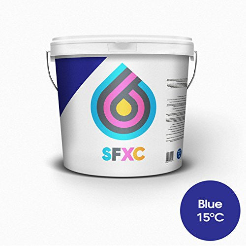 Thermochromic Screen Printing Ink Blue 15°C