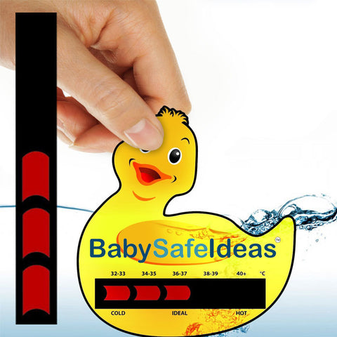 Bath thermometer stickers