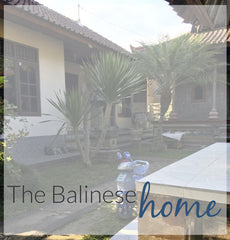 Balinese Family home and compound in Bali Indonesia