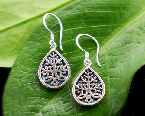 Akar Abalone Earrings #166-a
