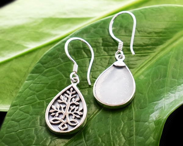 Akar Mother of Pearl Earrings #166-b
