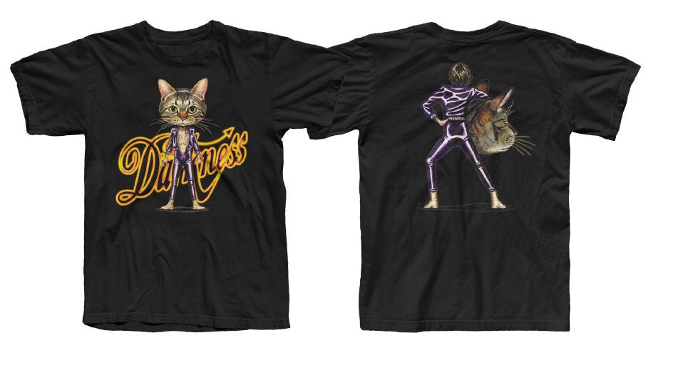 """Justin Cat""  T Shirt (unisex) black"