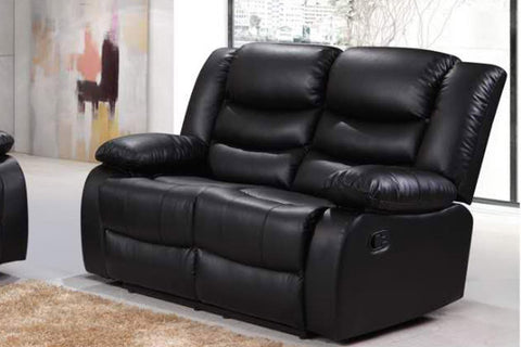 ROMANO 2 SEATER SOFA RECLINER BONDED LEATHER