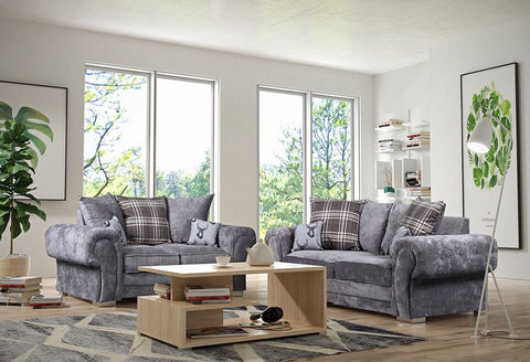 VERONA FABRIC 3+2 SEATER SOFA