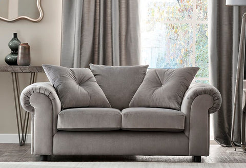 DERBY 2 SEATER FABRIC SOFA