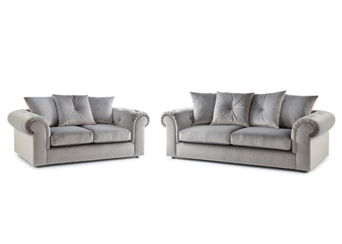 DERBY 3 + 2 SEATER FABRIC SOFA SET