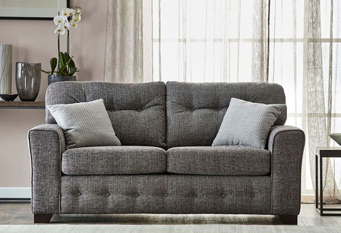 HARTLEY 2 SEATER FABRIC SOFA