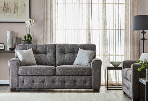 HARTLEY 3 SEATER FABRIC SOFA