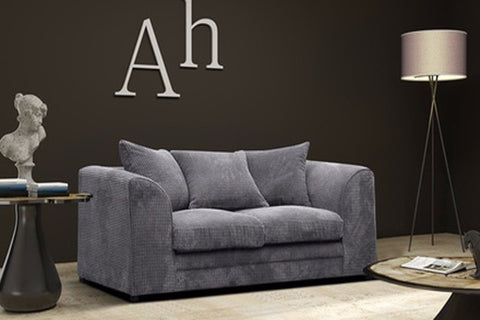 LOGAN 2 SEATER SOFA JUMBO CORD FABRIC
