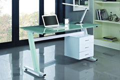 Dunhill 'Z' Shaped Computer Desk - FurnitureStop.co.uk
