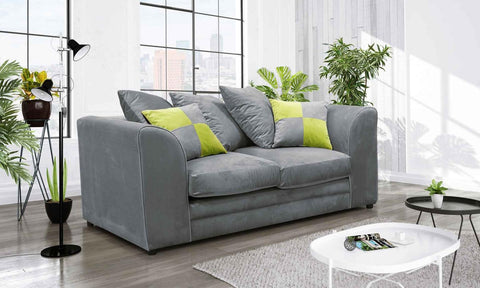 Catone 2 Seater Sofa Brushed Velvet Fabric