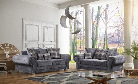 Veneto™ 3+2 Seater Scatter Back Fabric Sofa Set