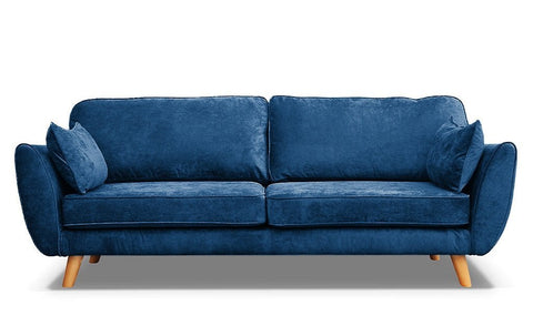 Zinc 3 Seater Fabric Sofa
