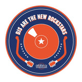 DJs Are the New Rockstars - Ortofon Slipmats (Pair)
