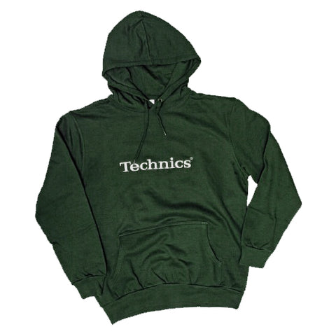 Technics Bottle Green Hoody