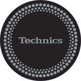 Technics Silver Dots Slipmats (Pair)