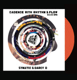 "Combinations with Rhythm and Flow - 7"" Scratch Record - Orange Vinyl - Cut & Paste Records"