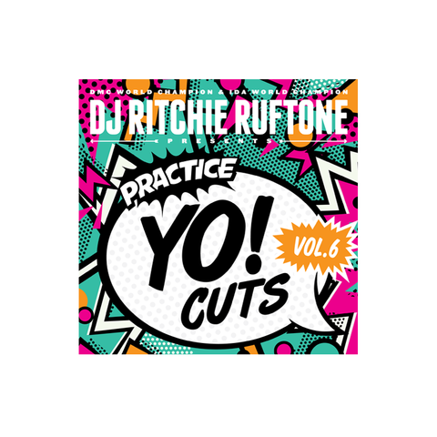 "Practice Yo! Cuts Volume Vol. 6 - 7"" Scratch Record - Turntable Training Wax"