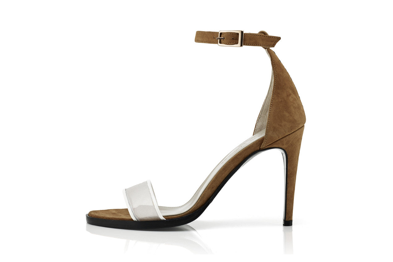 NATALIE HEELS, COPPER