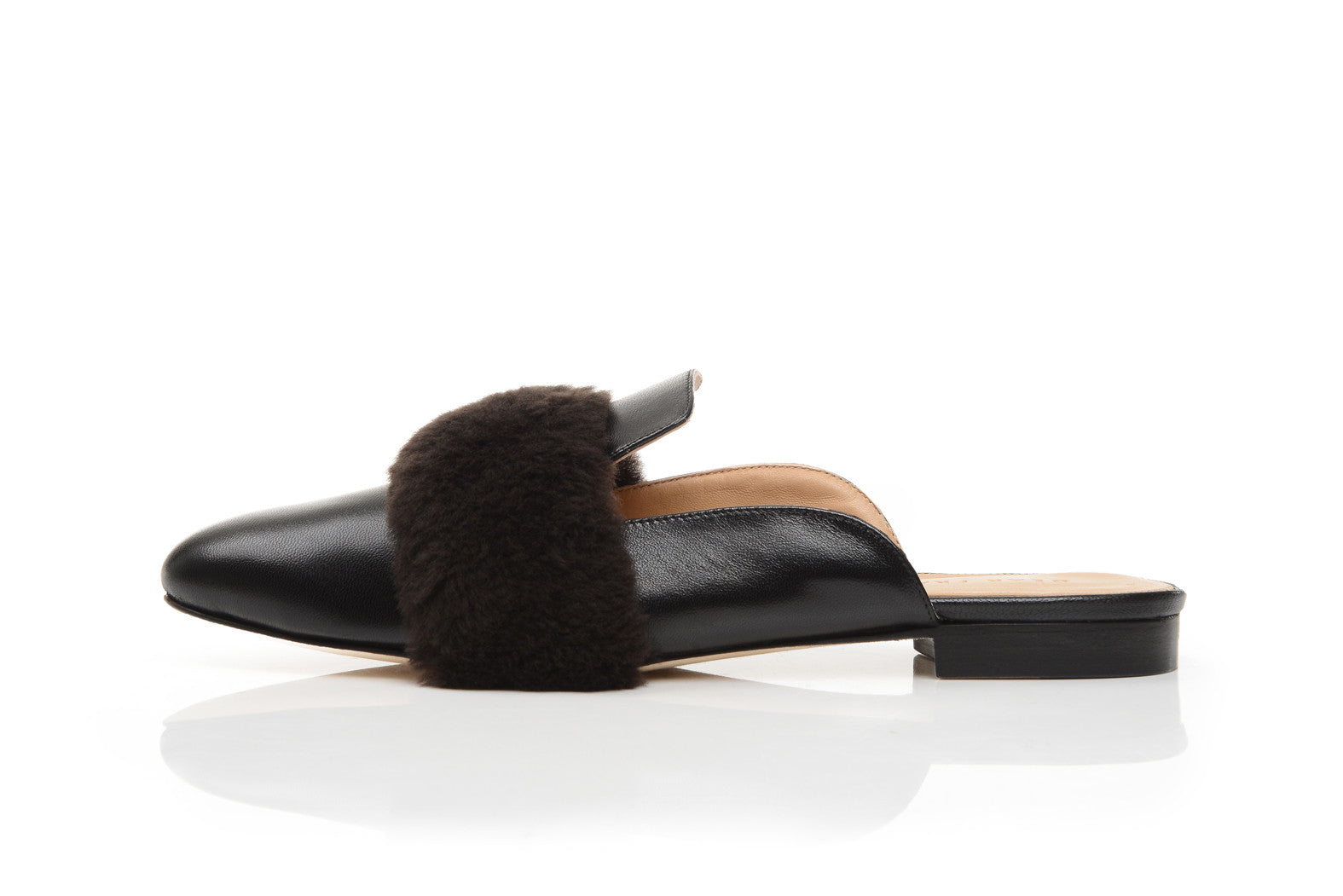 LOUNGE LOAFER, BLACK WOOL