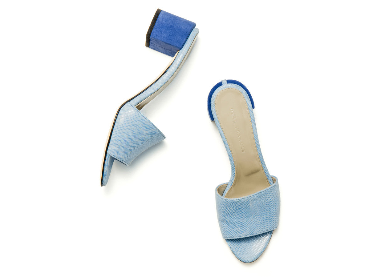 EVA MULES, SEA BLUE