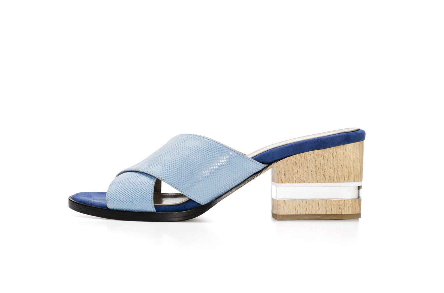 CROSS MULES, SEA BLUE