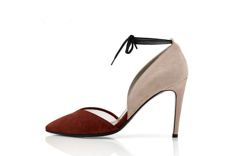 MARLI POINTED HEELS, ROUGE