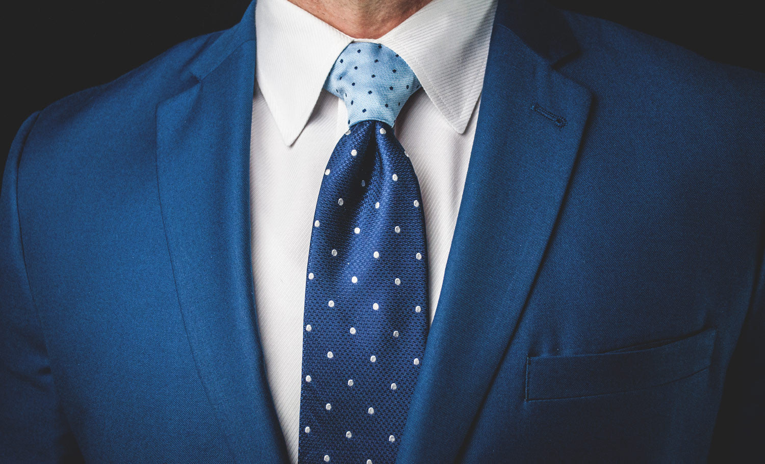 The Light Blue Polka Dot Proper Knot™