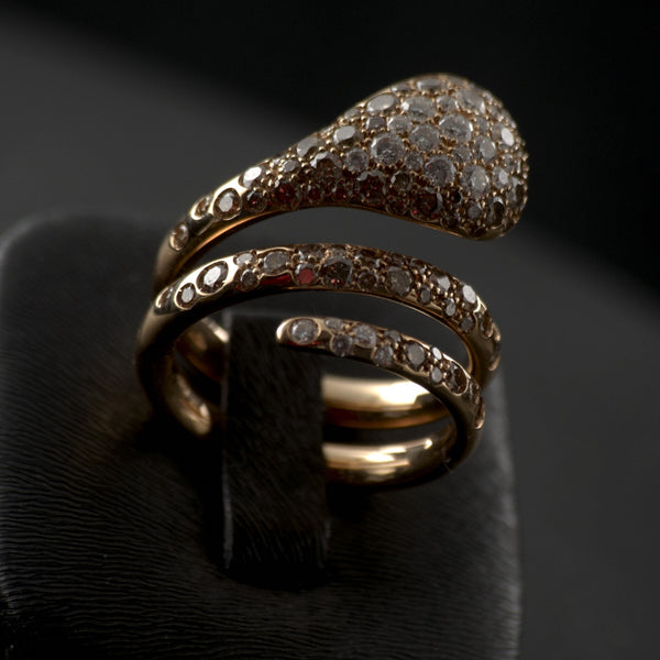 Diamond Reptiles Ring