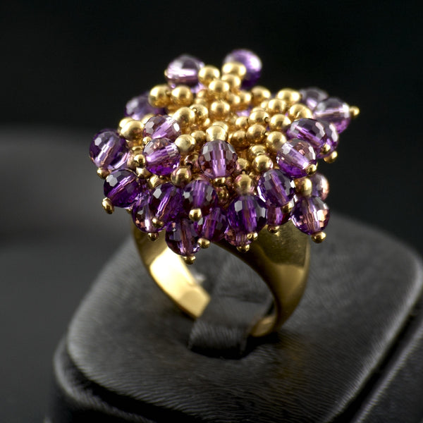 Amethyst Bouquet Ring