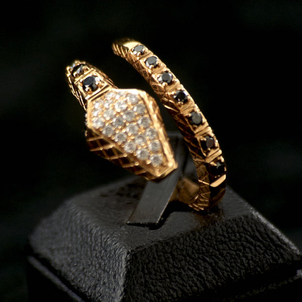 Reptilian Diamond Ring