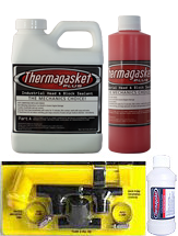 Thermagasket Head & Block Treatment Kit With Flush Kit & Extreme Cooling System Cleaner