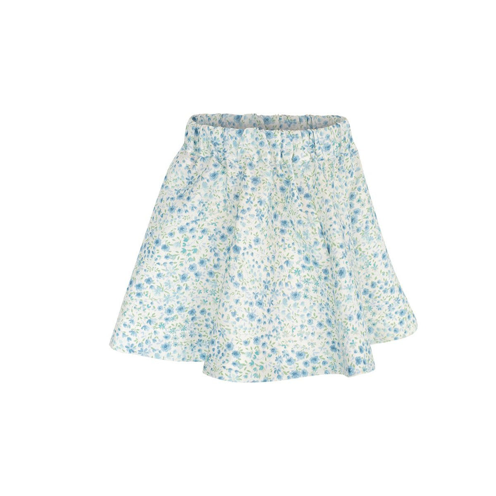 Doris Skirt Sample Size 4 in English Linen Floral