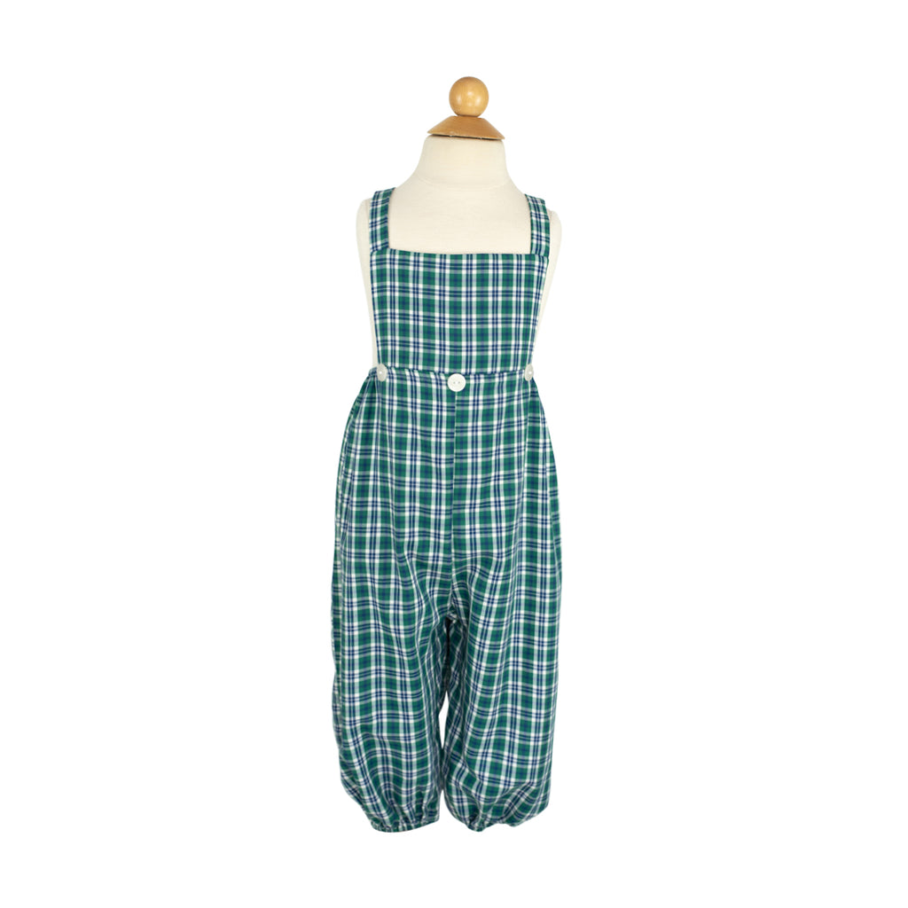 Brice Long Bubble- Blue Green Plaid- RBF