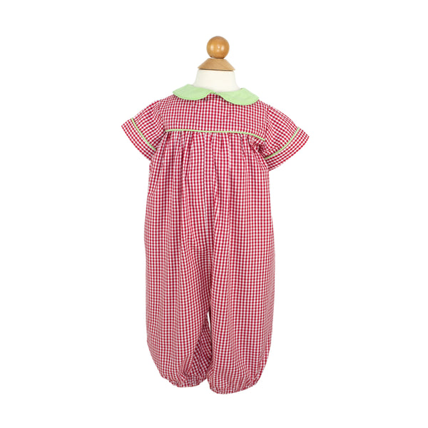 Thomas Bubble- Sample Size 18m in Red Gingham