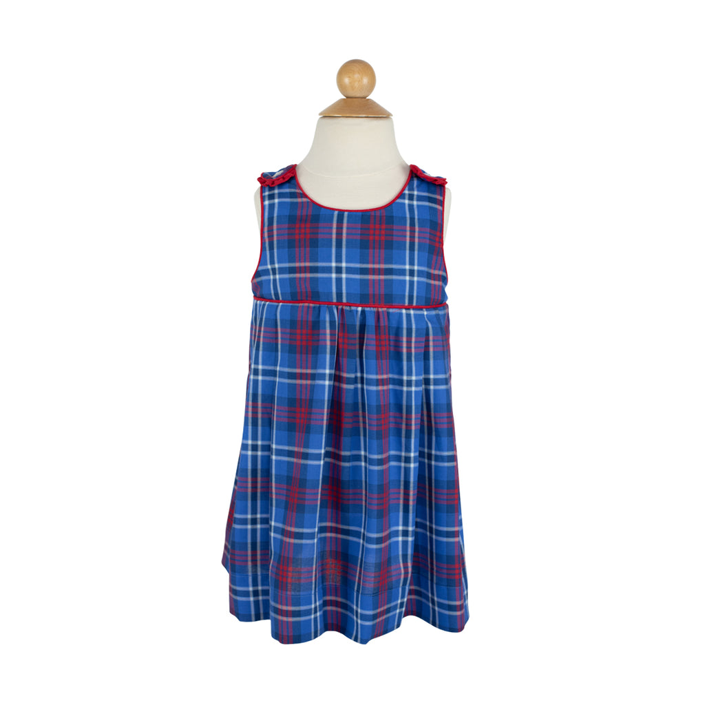 Jumper- Sample Size 5 in Red/Blue Large Plaid