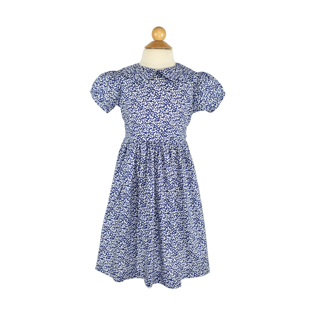 Felicity Dress- Sample Size 6 in Liberty Navy Vine