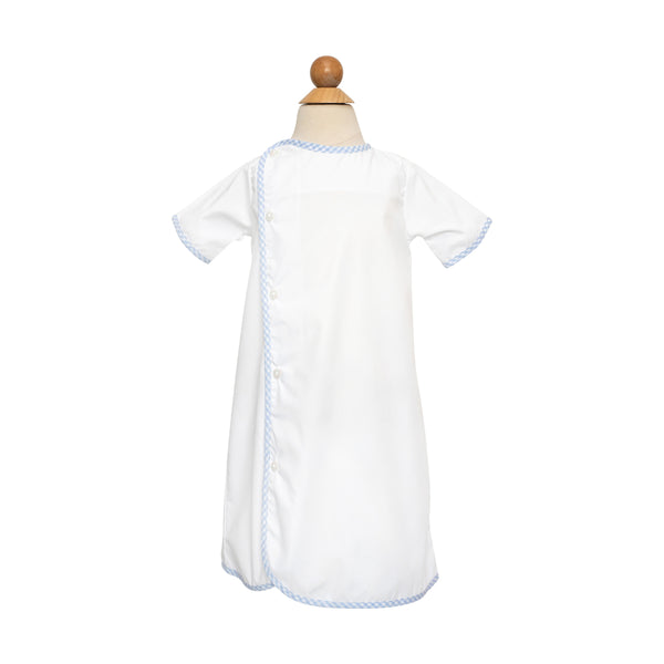 Griffin Daygown- Snow Broadcloth- RBF