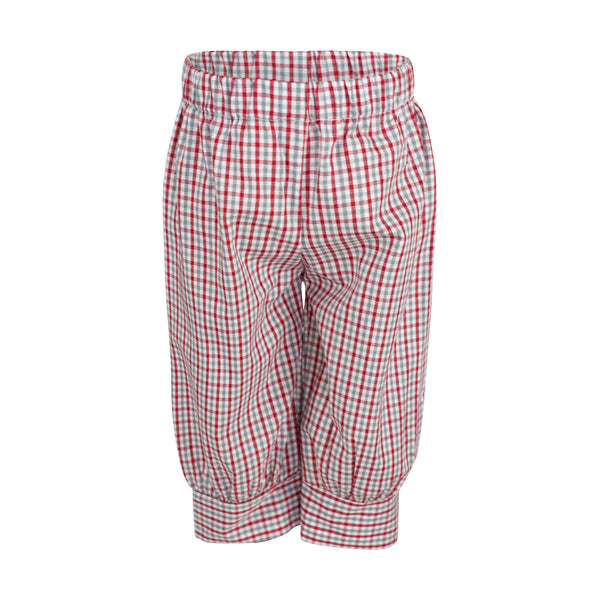 Ford Pant- Gray/Red Check