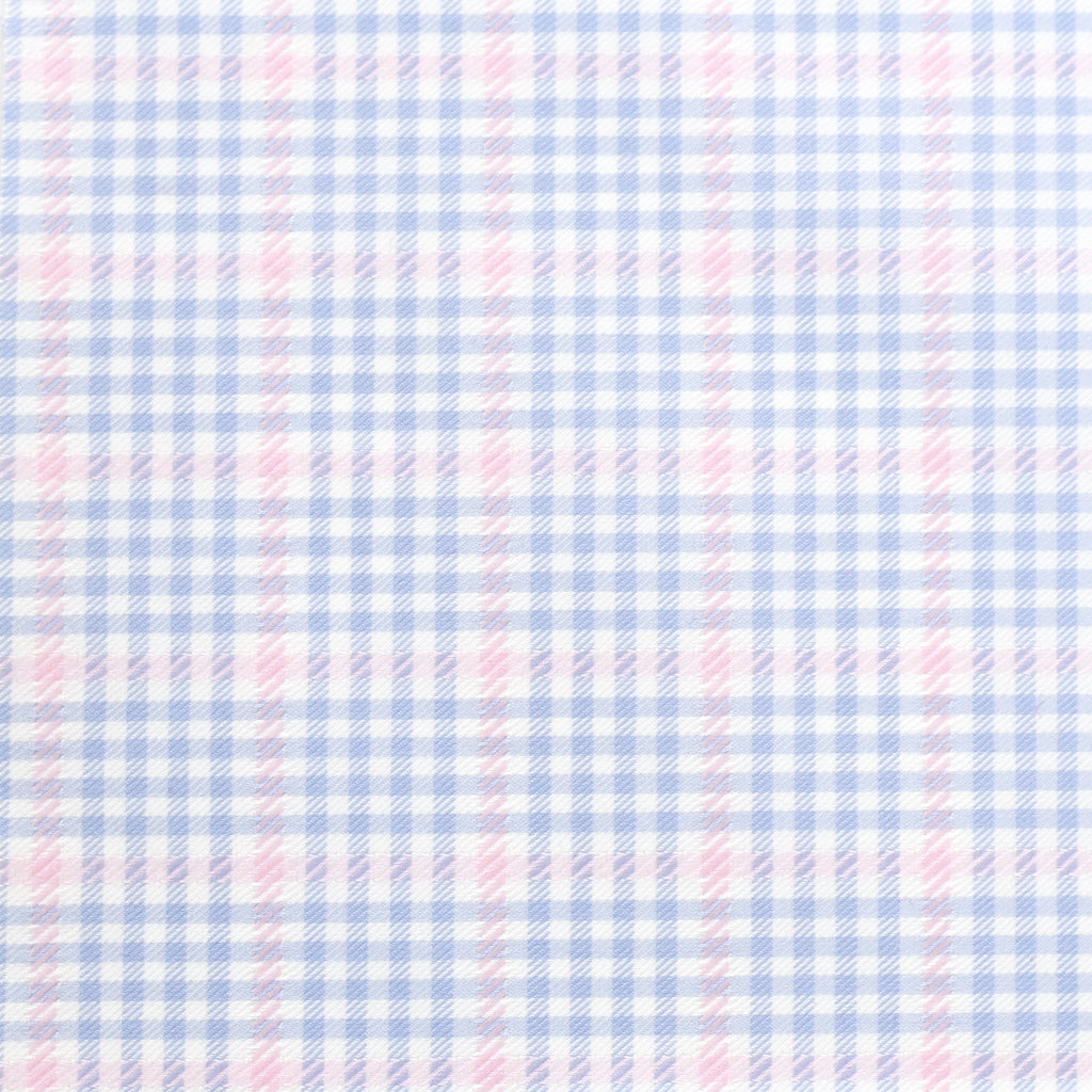 Easter-Blue/Pink Plaid