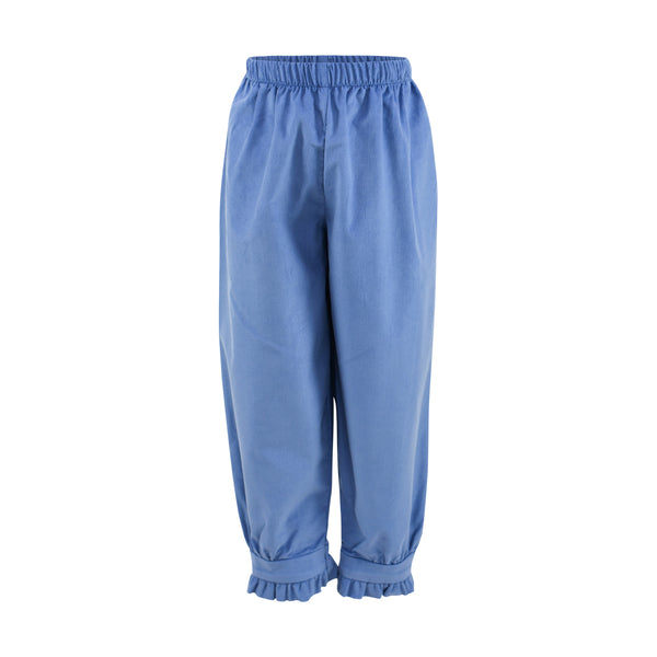 Renee Pant- Sample Size 6 in Periwinkle Corduroy