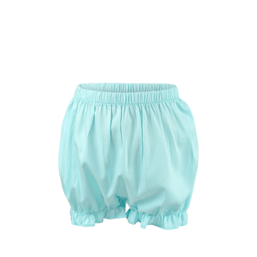 Rosie Bloomer Shorts Sample Size 2 Robins Egg Pique