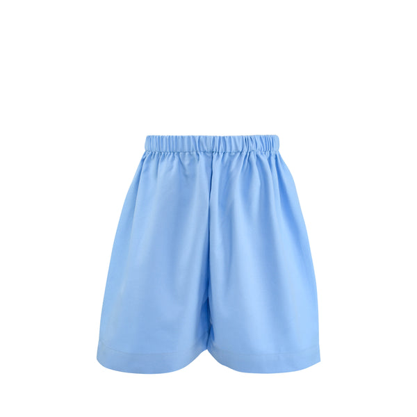Ethan Short Sample Size 5 Cornflower Twill