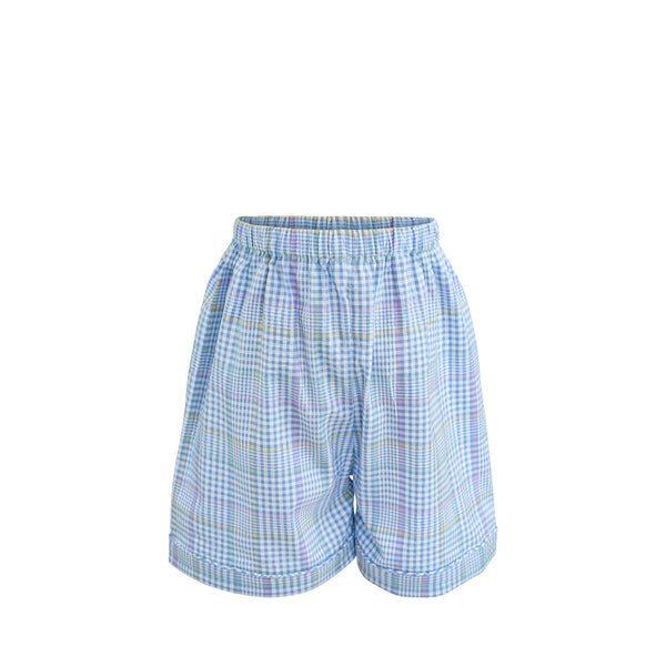 Westh Short Sample Size 4 Pastel Seersucker Plaid